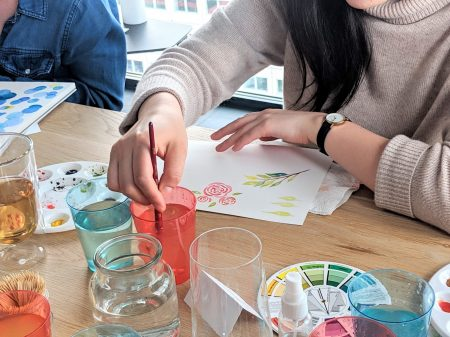 Watercolor workshop Rotterdam